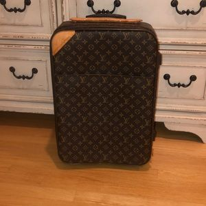 LV rolling luggage